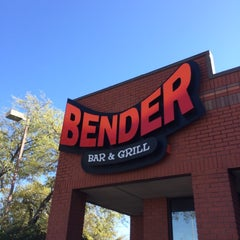 Photo taken at Bender Bar & Grill by CentralTexas R. on 4/9/2014