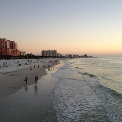 Photo taken at Clearwater Beach by Carmelo C. on 1/14/2013