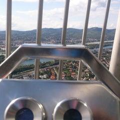 Photo taken at Donauturm by Amir E. on 8/24/2014