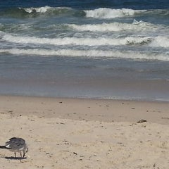 Photo taken at Ortley Beach, NJ by Courtney on 8/24/2014