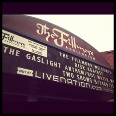 Photo taken at Fillmore Auditorium by Zeffanie M. on 9/25/2012