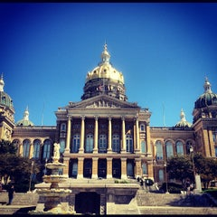 Photo taken at Iowa State Capitol Building by Formalplay on 9/15/2012