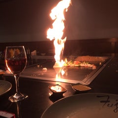 Photo taken at Fuji Japanese Steakhouse by Ren D. on 11/9/2013