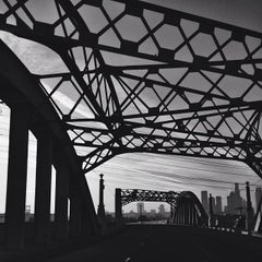 Photo taken at Sixth Street Bridge by Neph T. on 1/15/2014