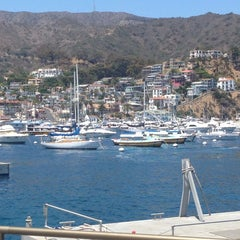 Photo taken at Avalon Harbor by Sylvia D. on 7/26/2014