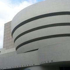 Photo taken at Solomon R. Guggenheim Museum by Yeeun T. on 6/23/2013