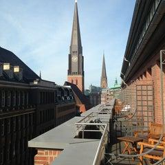 Photo taken at Park Hyatt Hamburg by Ricardo V. on 8/25/2013