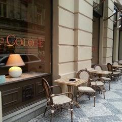 Photo taken at Café Colore by Gunl on 6/4/2013