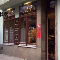 Photo taken at Kavárna Liberál by Honza S. on 6/13/2014