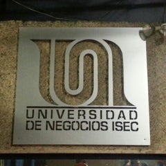 Photo taken at Universidad de Negocios ISEC by Anita M. on 11/17/2012