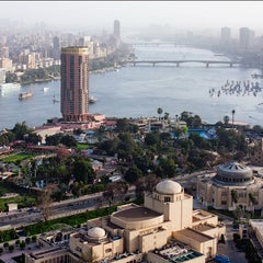 Photo taken at Cairo Tower | برج القاهرة by 4SQ Egypt on 6/23/2013