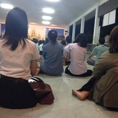 Photo taken at วัดป่ากู่แก้ว by Fang . on 11/1/2013