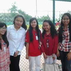 Photo taken at SMA Kusuma Bangsa by Definalia M. on 8/22/2013