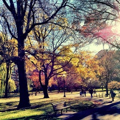 Photo taken at Boston Public Garden by Raffi A. on 11/26/2012