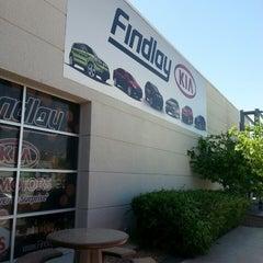 Photo taken at Findlay Kia Service Dept by Deanne F. on 4/15/2013