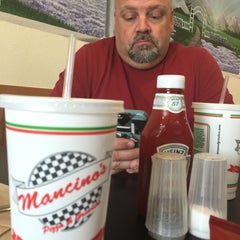 Photo taken at Mancino's Pizza & Grinders by Doug H. on 8/10/2015