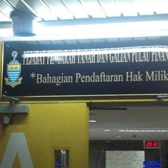 Photo taken at Penang Department of Lands & Mines by Kerusi Sepi on 2/20/2013