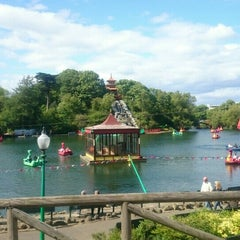 Photo taken at Peasholm Park by Ian H. on 6/6/2015