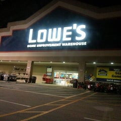 Photo taken at Lowe's Home Improvement by Amanda W. on 11/11/2013