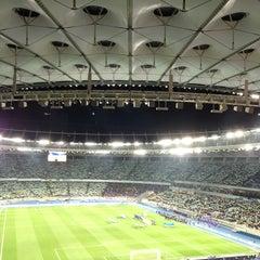 Photo taken at НСК «Олімпійський» / Olimpiyskiy Stadium by Oleh F. on 11/15/2013