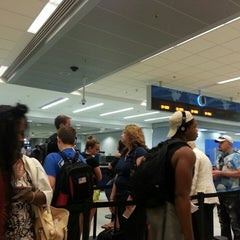 Photo taken at Security Checkpoint 1 by jessieTHEjazz on 7/3/2014