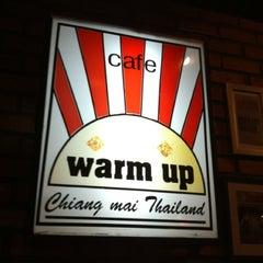 Photo taken at Warm Up Café (วอร์มอัพ คาเฟ่) by API'Z R. on 1/28/2013