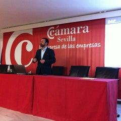 Photo taken at Escuela de Negocios Cámara Sevilla by Juan B. on 1/29/2013