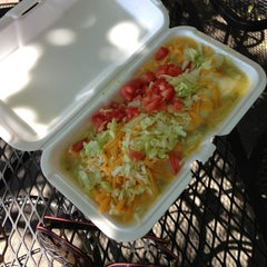 Photo taken at El Mercado Taco Wagon by Dawn on 8/28/2013