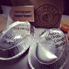 Photo taken at Chipotle Mexican Grill by Aileen B. on 2/12/2014