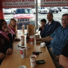 Photo taken at Five Guys by James M. on 12/29/2012