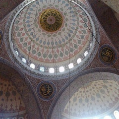 Photo taken at Etiler Camii by Umit T. on 6/23/2013
