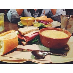 Photo taken at Panera Bread by Kaleigh I. on 11/1/2013