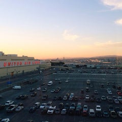 Photo taken at SFO Long Term Parking by Xande M. on 10/6/2013