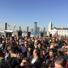 Photo taken at Ellis Island Ferry Security Queue by mark h. on 12/27/2014