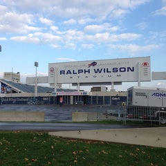 Photo taken at Ralph Wilson Stadium by Arif ~Mubashir H. on 10/18/2013