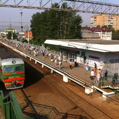Photo taken at Станция «Одинцово» by Ксеня Ш. on 6/27/2013