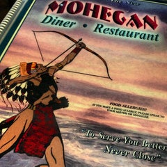 Photo taken at Mohegan Diner by John A. on 3/3/2013