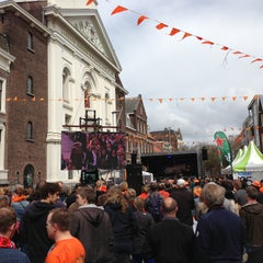 Photo taken at Nieuwe Groenmarkt by Boudewijn V. on 4/30/2013