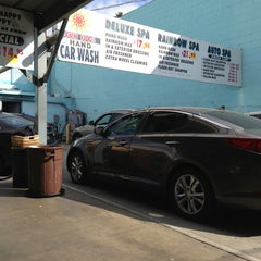 Photo taken at Sun Hand Car Wash by James T. on 10/13/2013