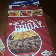 Photo taken at T.G.I. Friday's by Andre J. on 6/30/2013