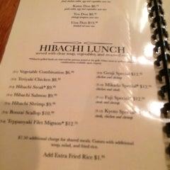Photo taken at Kenji Hibachi & Sushi Bar by Lauren B. on 1/11/2014