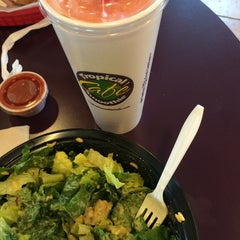 Photo taken at Tropical Smoothie Café by Lauren B. on 5/25/2014
