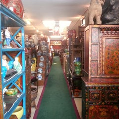 Photo taken at Golden Lotus Antiques by George S. on 2/16/2014
