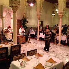 Photo taken at Restaurant Marrakesh by Colt L. on 11/30/2012