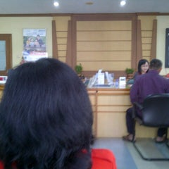 Photo taken at Bank BRI by Ugey H. on 7/5/2013