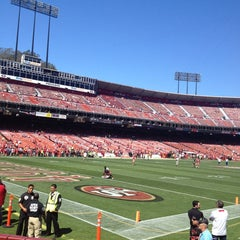 Photo taken at Candlestick Park by Kimberly M. on 9/9/2013