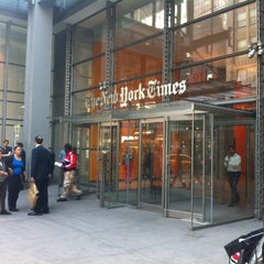 Photo taken at New York Times Center by Sharon C. on 6/8/2015