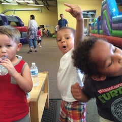 Photo taken at Leapin' Lizards Fun & Party Center by Janelle B. on 6/12/2015