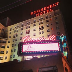 Photo taken at The Hollywood Roosevelt by Chrystall F. on 6/5/2013