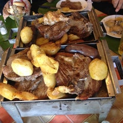Photo taken at Parrilladas San Luis by Luis Z. on 4/27/2014